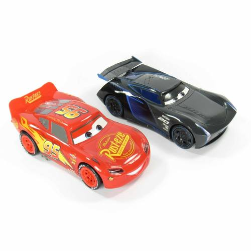 Set 2 Coches Cars3 Rayo Mcqueen Y Jackson Storm Tm4 Juguete