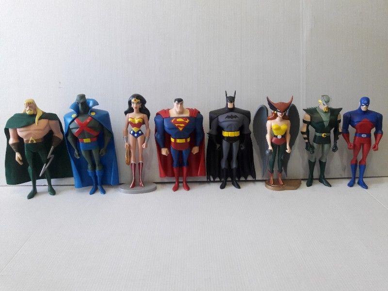 Set Liga de la Justicia 10 plg. - Juguetes