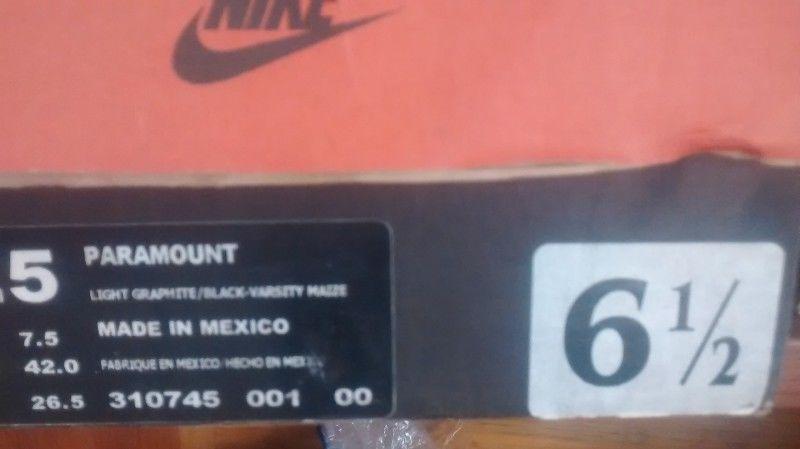 Tenis Nike originales de botin para caballero