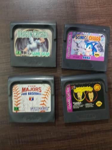 4 Juegos De Game Gear X 750 Pesos