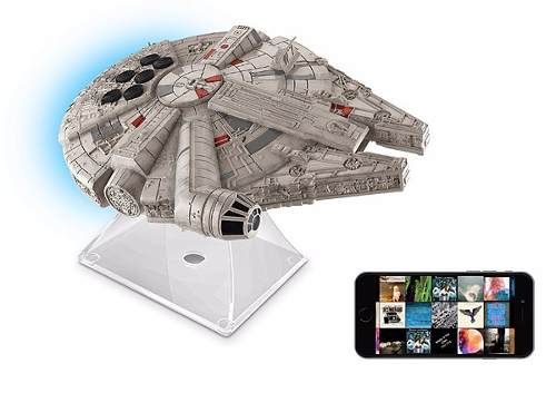 Bocina Star Wars Millennium Falcon Bluetooth Speaker Nuevo