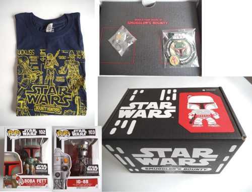 Box Set Smugglers Bounty Hunters Funko Pop Star Wars Grande