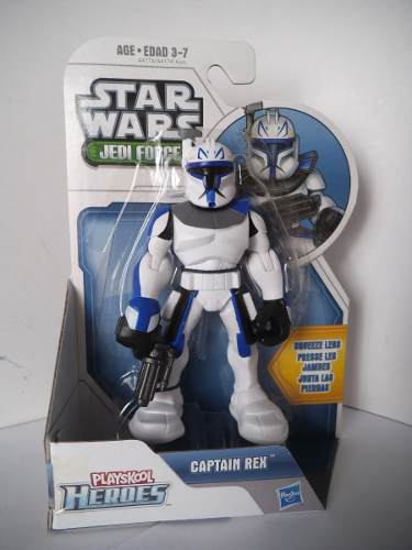 Capitan Rex Clone Trooper Star Wars Jedi Force Squeeze Legs