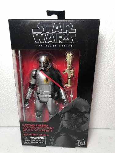 Captain Phasma (quicksilver Baton) Star Wars Black Series