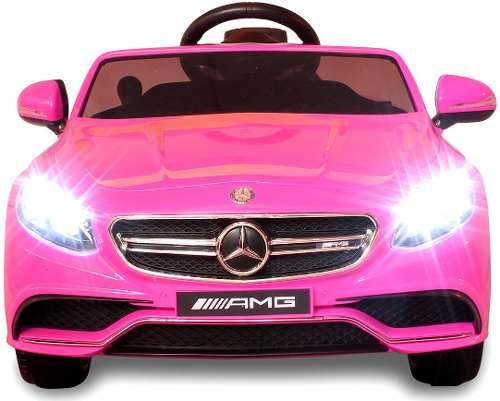 Carro Eléctrico Mercedes Benz S63 Amg Con Control Remoto