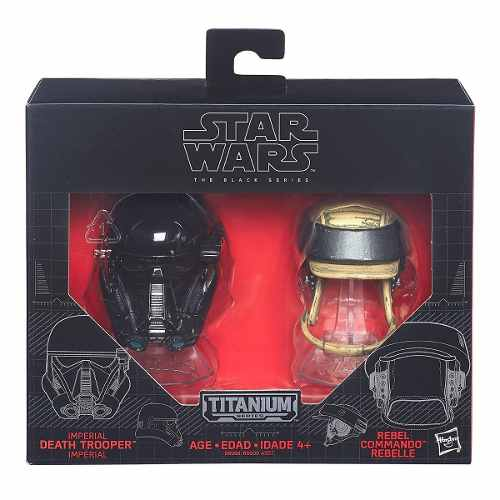 Cascos Star Wars Death Trooper Rebel Titanium Series 06
