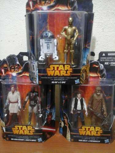 Colección Star Wars 6 Figuras Serie Misión Original Oferta