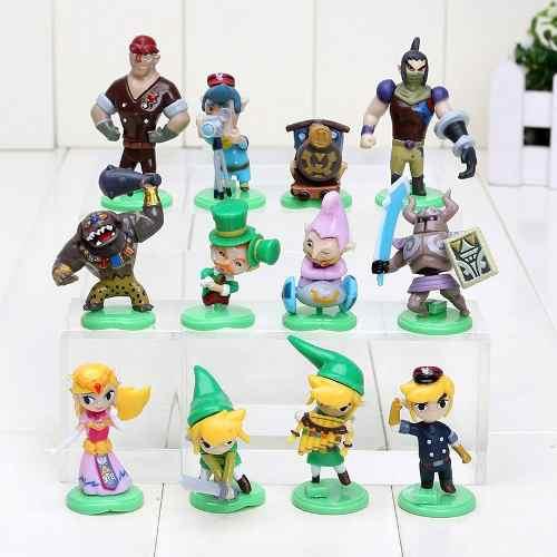Coleccion De Figuras The Legend Of Zelda Spirit Tracks