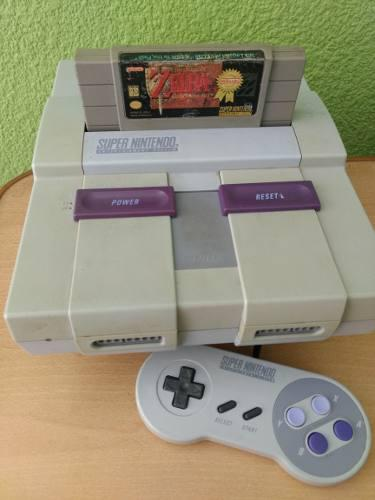 Consola Videojuego Super Nintendo Snes Zelda Envio Gratis