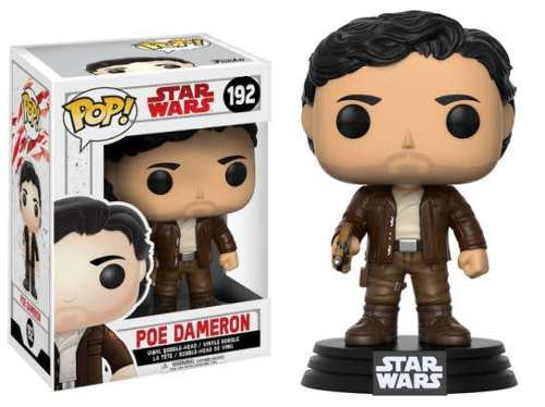 Figura Coleccionable Pop Star Wars Jedi Poe Dameron Funko
