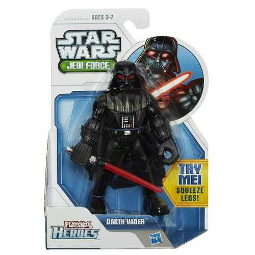 Figura Grande Star Wars Jedi Force Playskool Darth Vader *