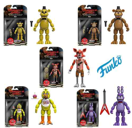 Five Nights At Freddy's Colección Funko Originales