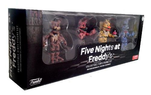 Funko Five Nights At Freddy S Nightmare Set 3 Con 4 Figuras
