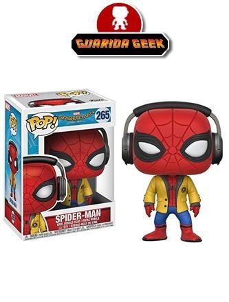 Funko Pop! Spiderman Homecoming Con Audifonos / Headphones
