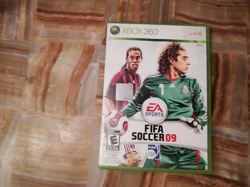 Juego De Consola Xbox 360 Fifa 09