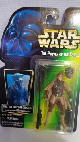 Leia In Boushh Star Wars Power Of The Force Serie