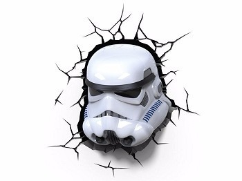 Luz 3d Fx  Star Wars Stormtrooper 3d Deco