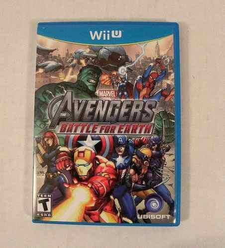 Marvel Avengers: Battle For Earth Nintendo Wiiu