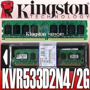 Memoria Ram 2 Gb, Ddr Mhz Pc Kingston Para Pc