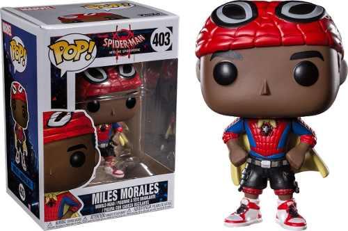 Miles Morales De Spiderman Funko Pop Figura De Vinil Nueva