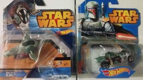 Nave Y Vehiculo Star Wars Boba Fet Hot Wheels Nuevos