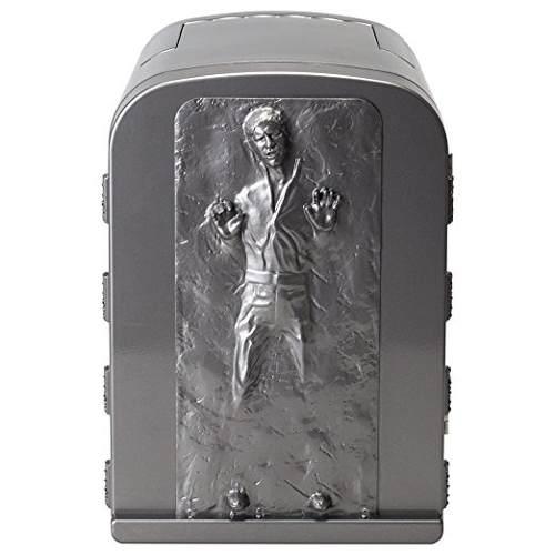 New Star Wars Han Solo En Carbonita 3d 4 Litros Mini Refrige
