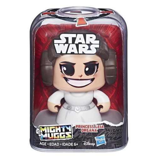 Oferta Star Wars Mighty Muggs 3 Caras Princesa Leia Organa *