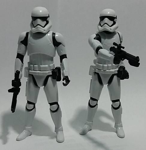 Pack 2 Figuras De Stormtrooper Star Wars 15cm Disney Guerr