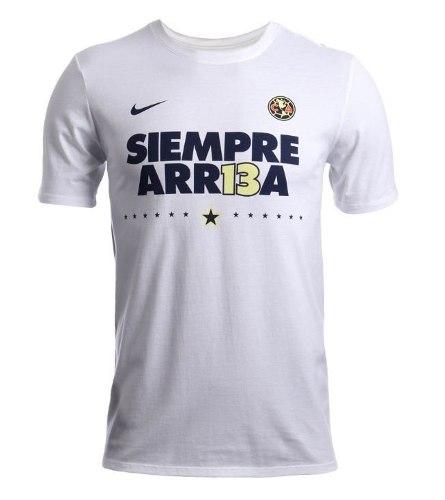 Playera Club America Siempre Arr13a Arriba Campeon Envío