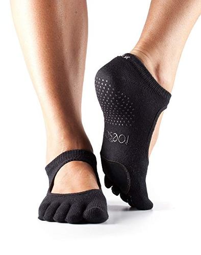 Plie Grip Toe Completo De Toesox Mujeres Para Yoga, Pilates,