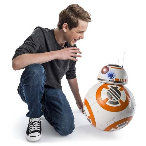 Robot Hero Droid Bb-8 Escala Real Interactivo Rc Star Wars