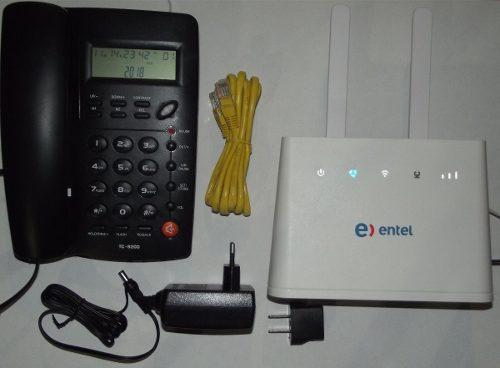 Router Celular 4g Rural Voz Datos Huawei B310s + Telefono