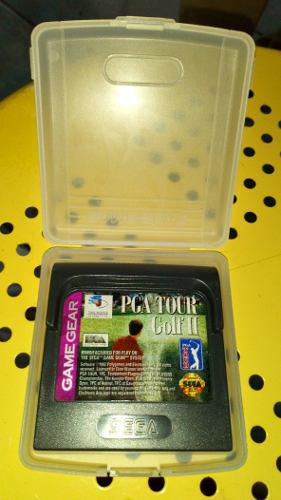 Sega Game Gear Pga Tour Golf 2 Con Estuche En Buen Estado