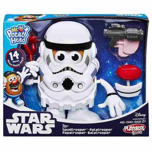 Señor Cara De Papa Trooper Star Wars Rosquillo Toys
