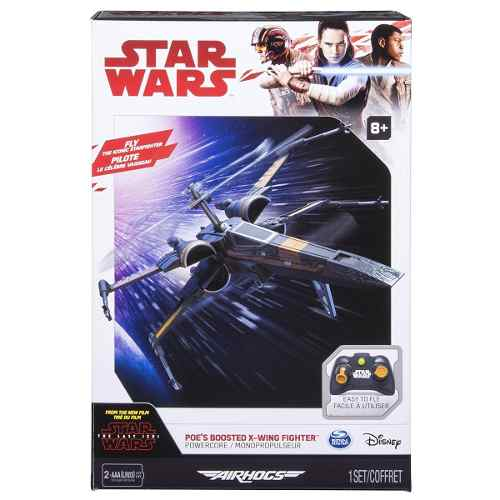 Star Wars Air Hogs Poes Boosted X Wing Fighter Drone