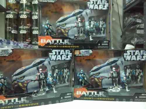 Star Wars Battle Packs The Hunt For Grievous C/u Tmc