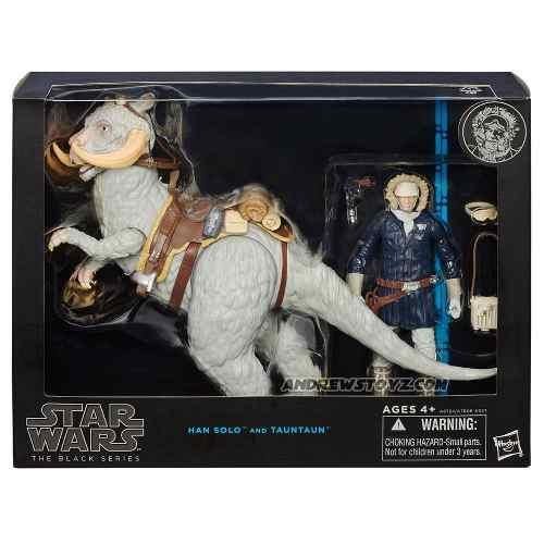 Star Wars Black Series 6 Han Solo Y Taun Taun