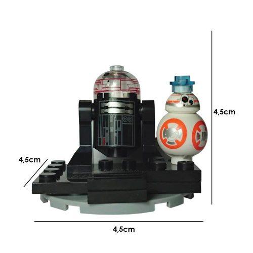 Star Wars Figura Comp. Lego Bb8 Bb 8 R2d2 R2 D2 Arturito