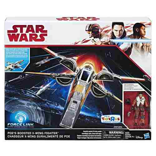Star Wars Force Link Poes Boosted X-wing Fighter