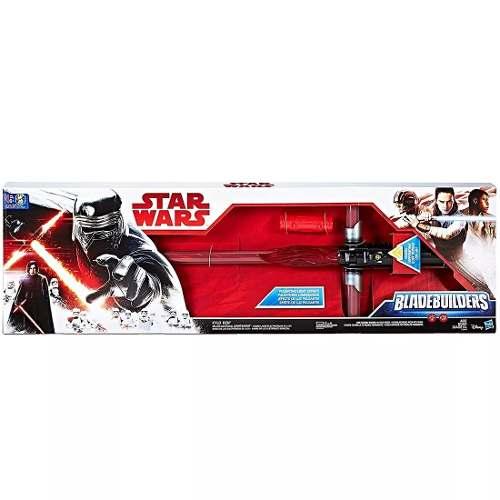 Star Wars Kylo Ren Lightsaber Deluxe Electronico Luz Sonidos