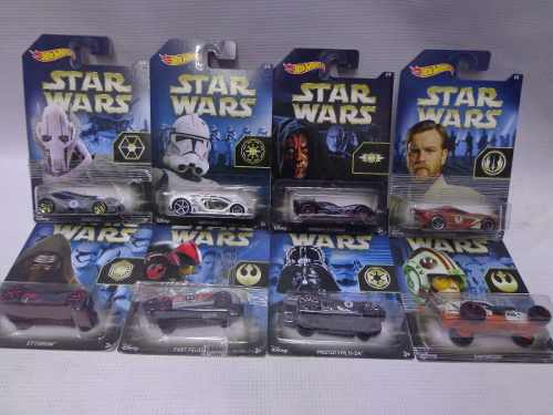 Star Wars Serie Completa Hot Wheels