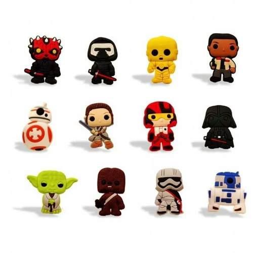 Star Wars Set 14 Imanes Refrigerador Yoda Envio Gratis