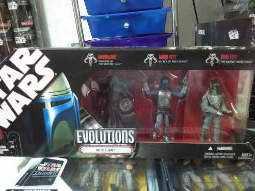 Star Wars Set Evolutions The Fett Legacy