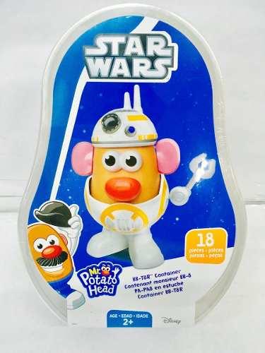 Star Wars Sr Cara De Papa Bb 8 En Estuche 18 Piezas Hasbro