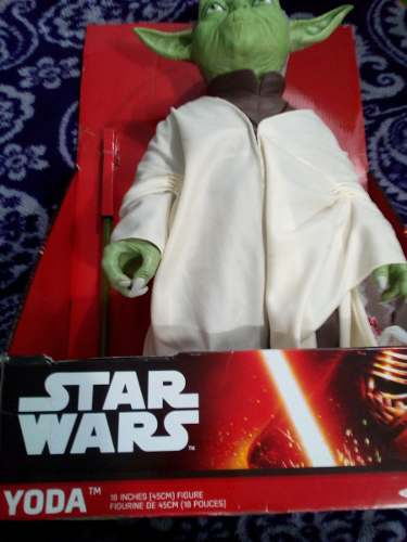 Star Wars Yoda Jakks Pacific 18 Pulgadas The Force Awekins