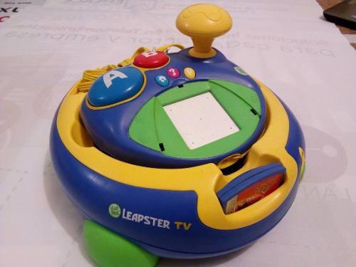Videojuego Leapster Leapfrog Tv Del Año 2006 Con Juego Cars