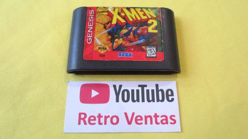 X Men 2 Sega Genesis Clone Wars