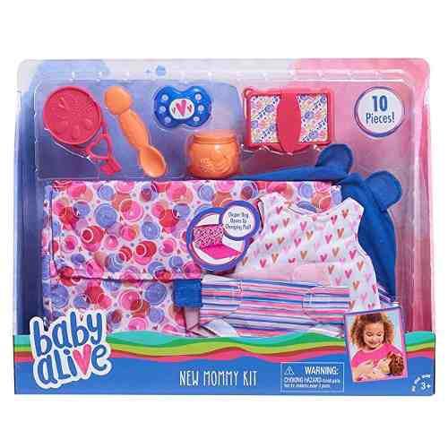 Baby Alive Nueva Mama Kit De Accesorios Para Muñecas,