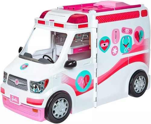 Barbie Ambulancia Hospital 2 En 1 Mattel