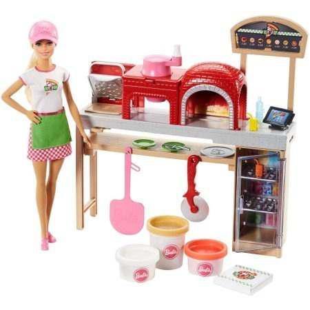 Barbie Cocinera Barbie Set Pizza Chef Barbie De Cocina Pizza